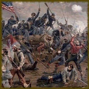 American Civil War Wallpaper Border