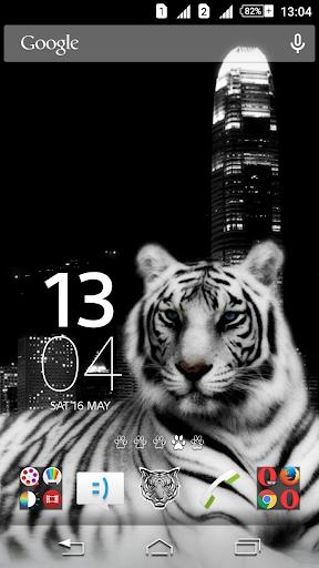 White Tiger Xperien Theme