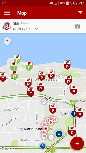 玩免費遊戲APP|下載Badger Gameday Map app不用錢|硬是要APP