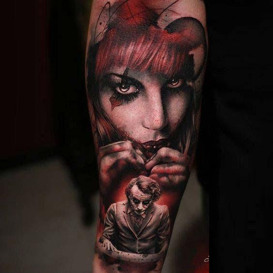 50 Crazy <b>Joker Tattoos Designs</b> and Ideas For Men And Women