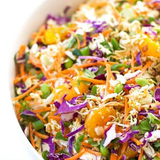 Asian Ramen Noodle Salad Recipe