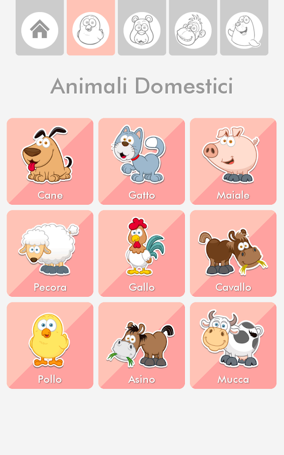Suoni di animali- screenshot
