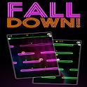 Fall down icon