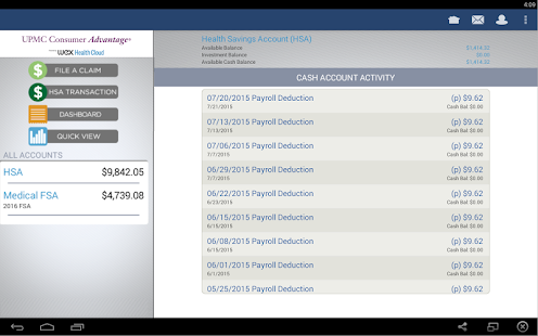 UPMC Consumer Advantage- screenshot thumbnail