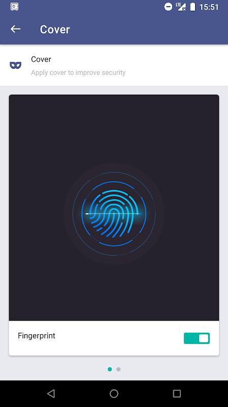AppLock screenshots