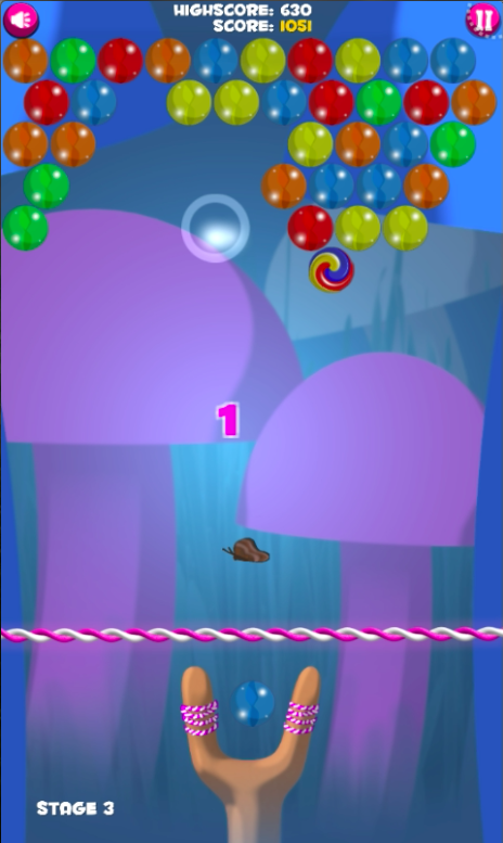 Bubble Shooter Air- screenshot