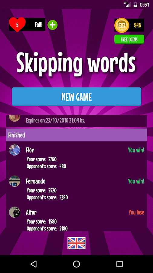 Alphabet Game- screenshot
