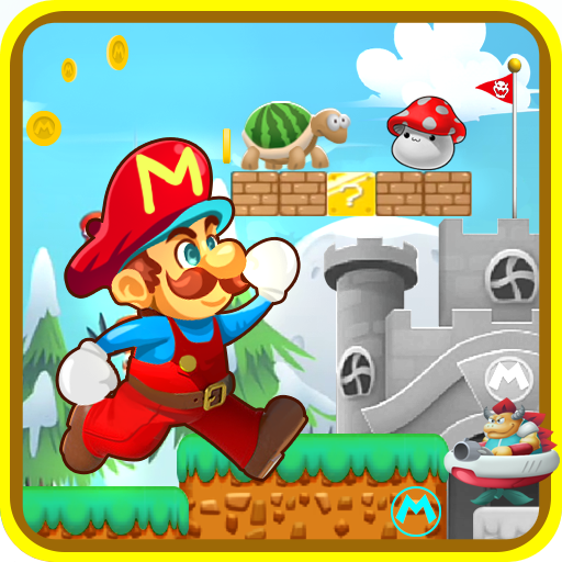 Smash Adventure Jungle Mario 街機 App LOGO-硬是要APP