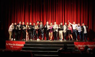 En imágenes: así fueron los Premios de la Noche Almeriense