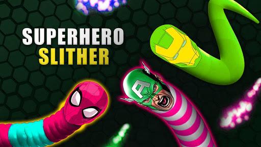 Superhero Slither Combat 3D Game APK MOD – Pièces de Monnaie Illimitées (Astuce) screenshots hack proof 1