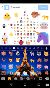 Emoji keyboard - Cute Emoji screenshot 1