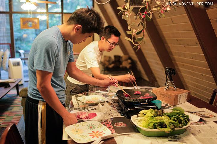 Glamping Essentials - Korean BBQ.