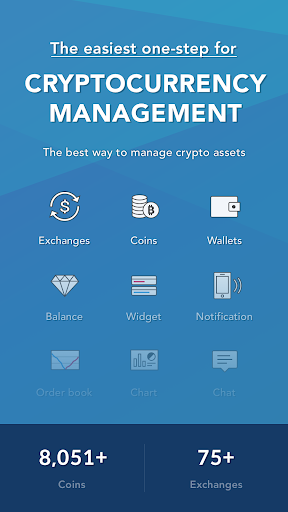 CoinManager- Bitcoin, Ethereum, Ripple finance app Apk 1