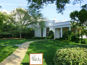 Photo: Outside view of the Oval Office