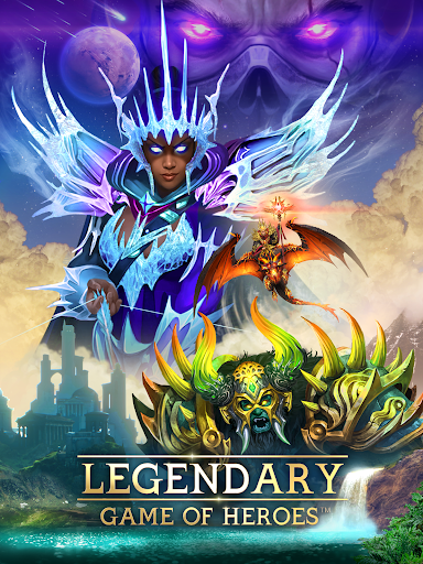 Legendary: Game of Heroes - Fantasy Puzzle RPG 3.7.13 screenshots 1