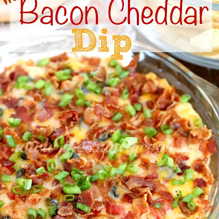 Warm Bacon Cheddar Dip