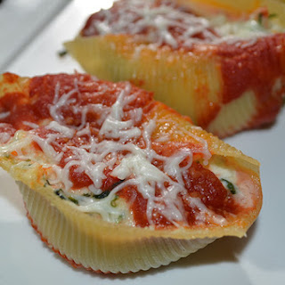 Stuffed Shells With Ricotta Cheese.