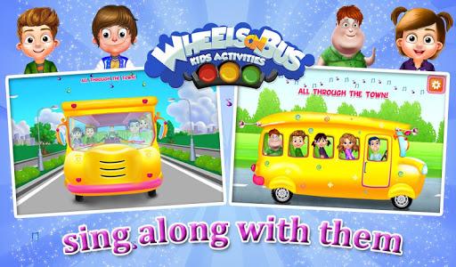 Wheels On Bus Kids Activities v1.0.2