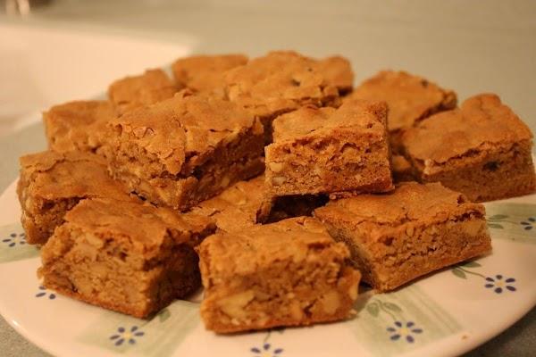 Frostys Butterscotch Brownies Recipe