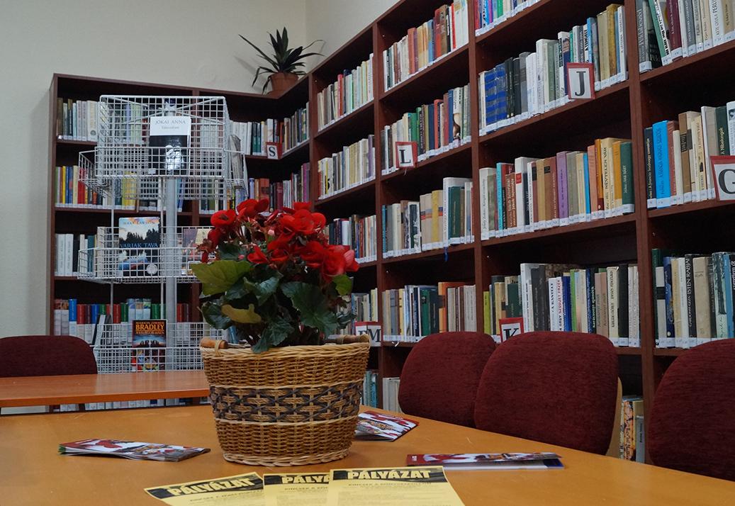 Könyvtárost keres a Wekerlei Könyvtár