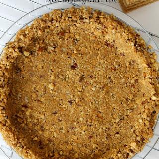 Pecan Cinnamon Graham Cracker Crust.
