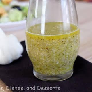 Roasted Garlic Vinaigrette.