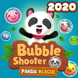 Bubble Shooter 2020 Panda Rescue 1.7 by Daliminer logo