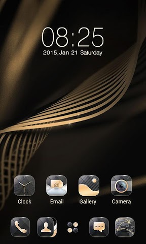 android Quality GO Launcher Theme Screenshot 2