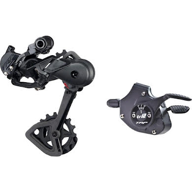 TRP TR12 Rear Derailleur and Shifter Kit - Black