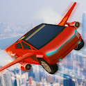 Real Flying Cyber Truck Electric Car 3D Simulator icon