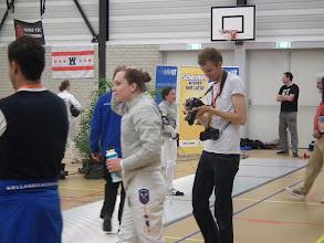 Photo: Hier wint het meisje van holland schermen met slechts 1 punt verschil. Iedereen blij: Laura is heel hoog geeindigd: nummer 2!