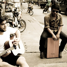 street music by Ashley Vanley - People Musicians & Entertainers