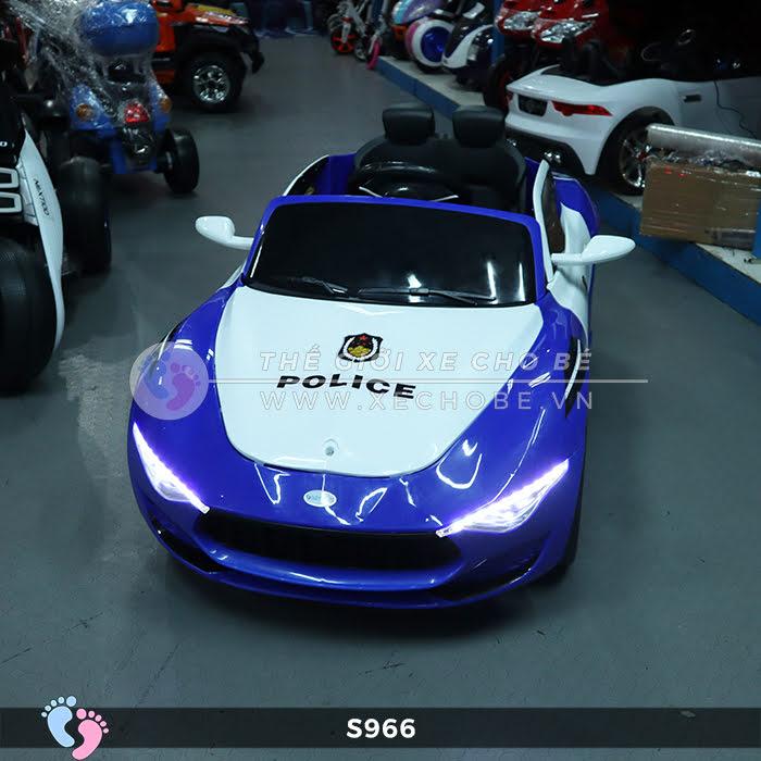 Xe ô tô điện cho bé Police XYS-966 14