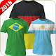 Download World Football Cup T-Shirt Maker with Name 2018 For PC Windows and Mac