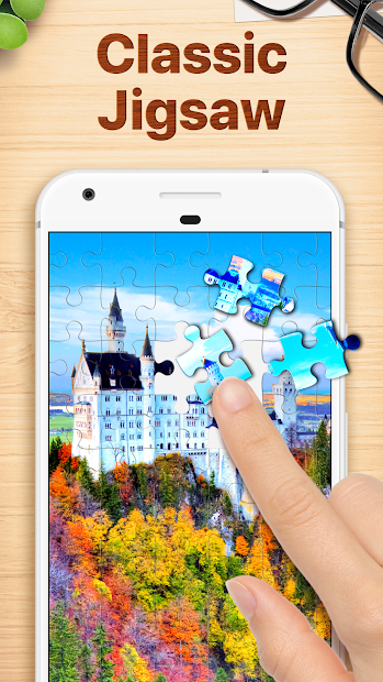 Jigsaw Puzzles - Puzzle Game Android App Screenshot