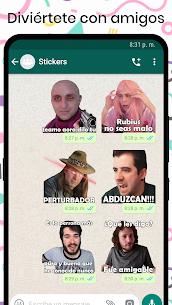 Stickers de YouTubers para WhatsApp 5