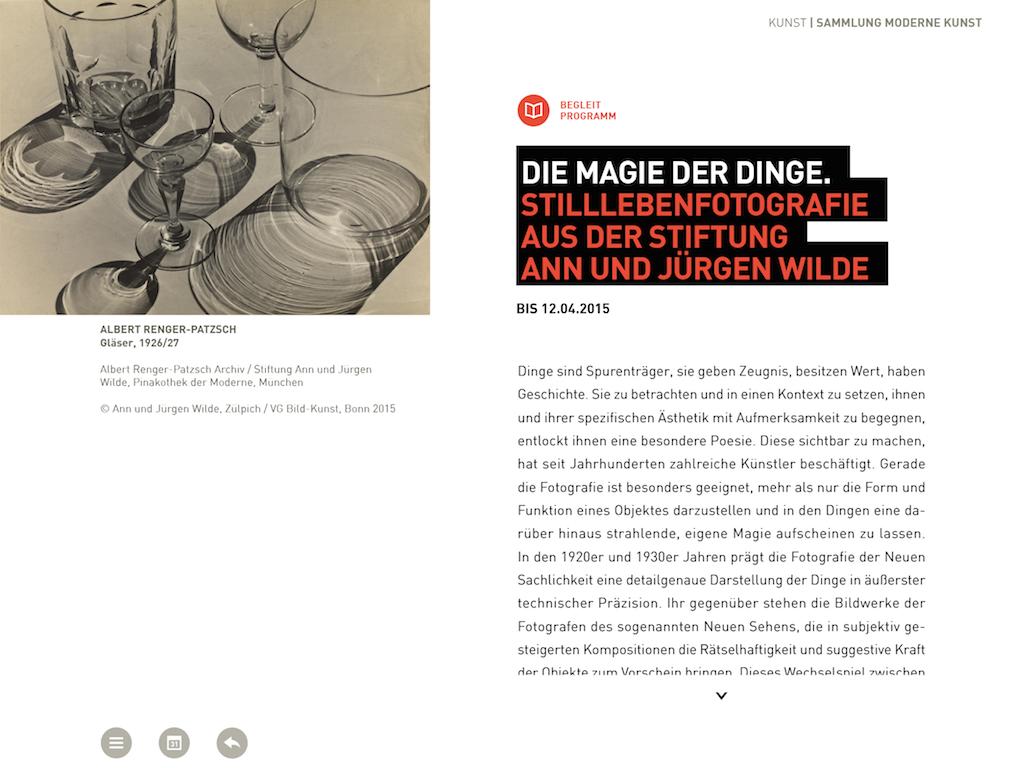 Pinakothek der Moderne- screenshot