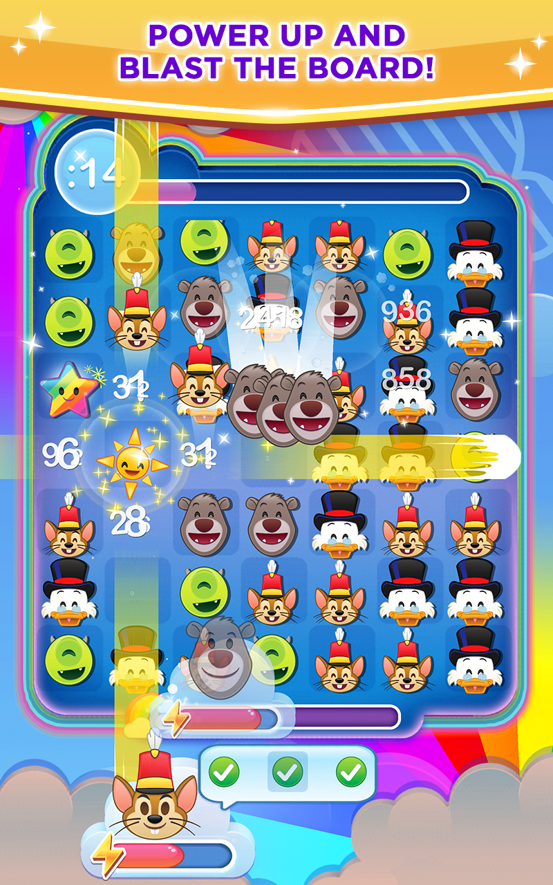 Disney Emoji Blitz Screenshot 3