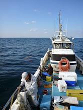 Photo: ・・・その後、サメの猛攻。 場所移動。