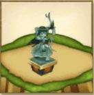 カスミの像