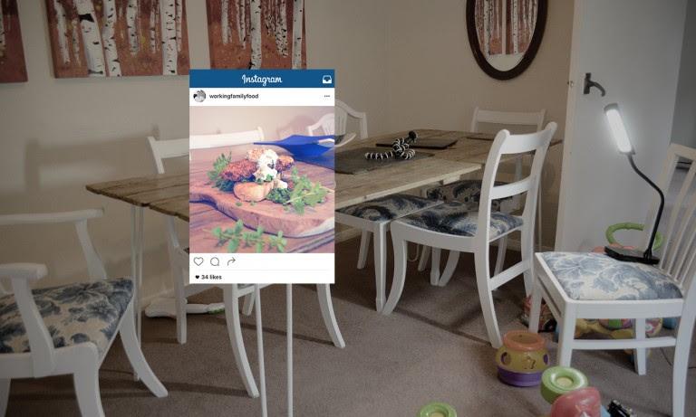 Fotografías de comida en Instagram, percepción vs realidad