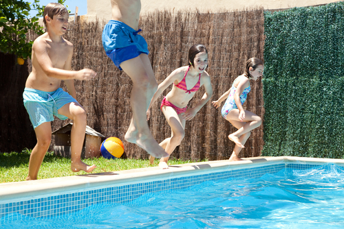 Summer Swimming Pool Games-image