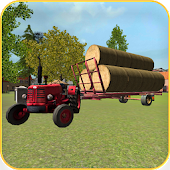 Classic Tractor 3D: Hay