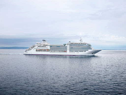 Silver Moon from Silversea boasts a nearly 1:1 crew-to-guest ratio.
