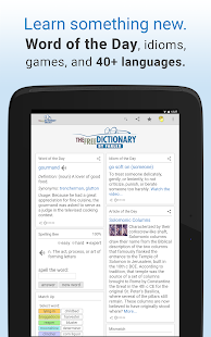 Dictionary- screenshot thumbnail