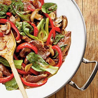 Garlic-Pork Stir-Fry
