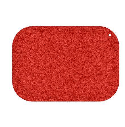 Matta standup 53x77cm röd