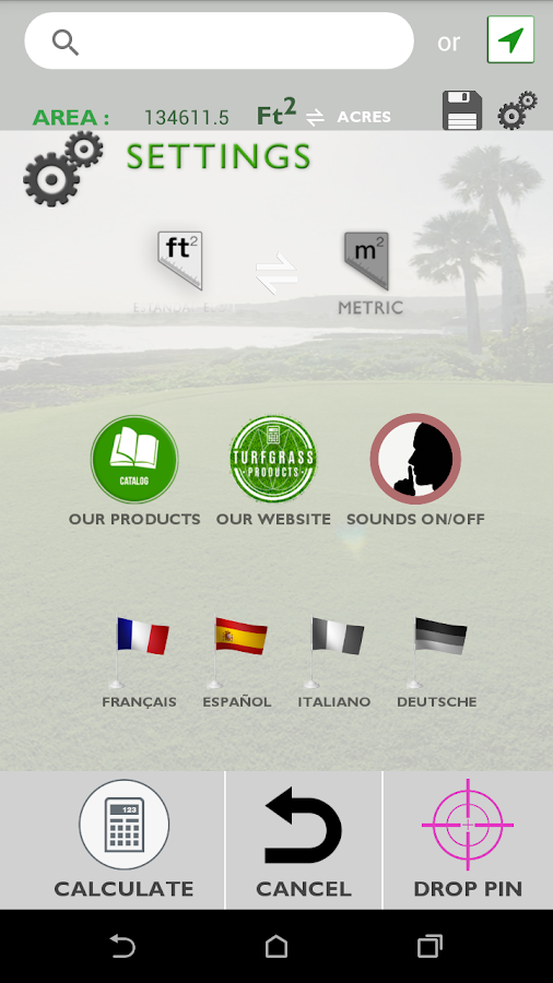 Turfgrass Products- screenshot