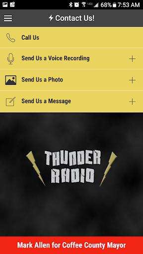 Thunder Radio screenshot 4