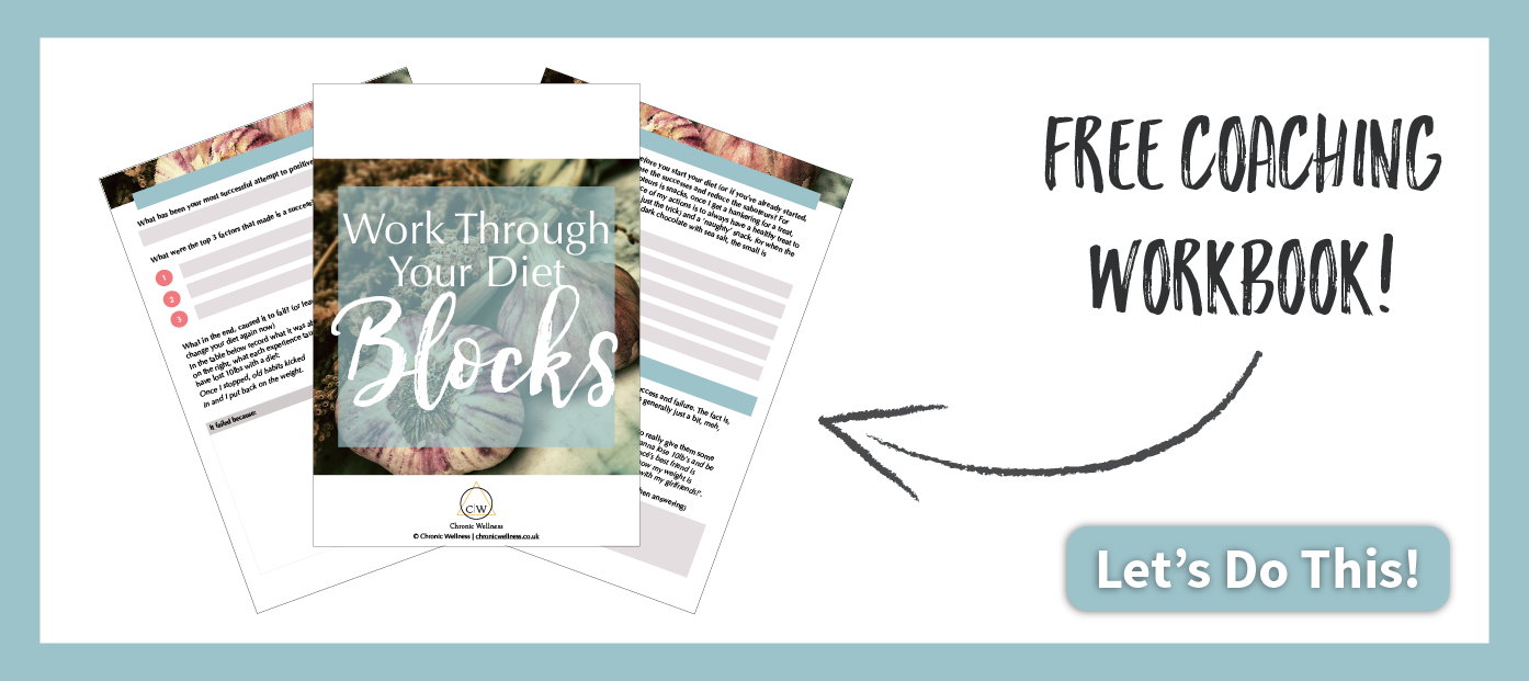 Click here for Free Work Through Your Diet Blocks Coaching Workbook